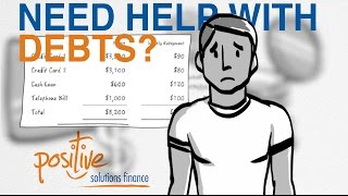 Debt Consolidation with Positive Solutions Finance - Getting Finance with Bad Credit
