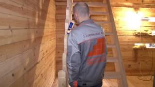 Деревянная лестница UniScala S-01(Видеоинструкция по самостоятельной установке деревянной лестницы UniScala S-01 от компании