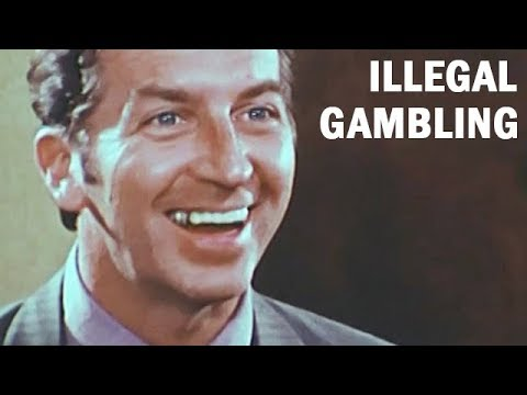 Fight Against Illegal Gambling | FBI Training Film | ca. 1971