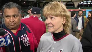 Anthony Rendon and parents after World Series