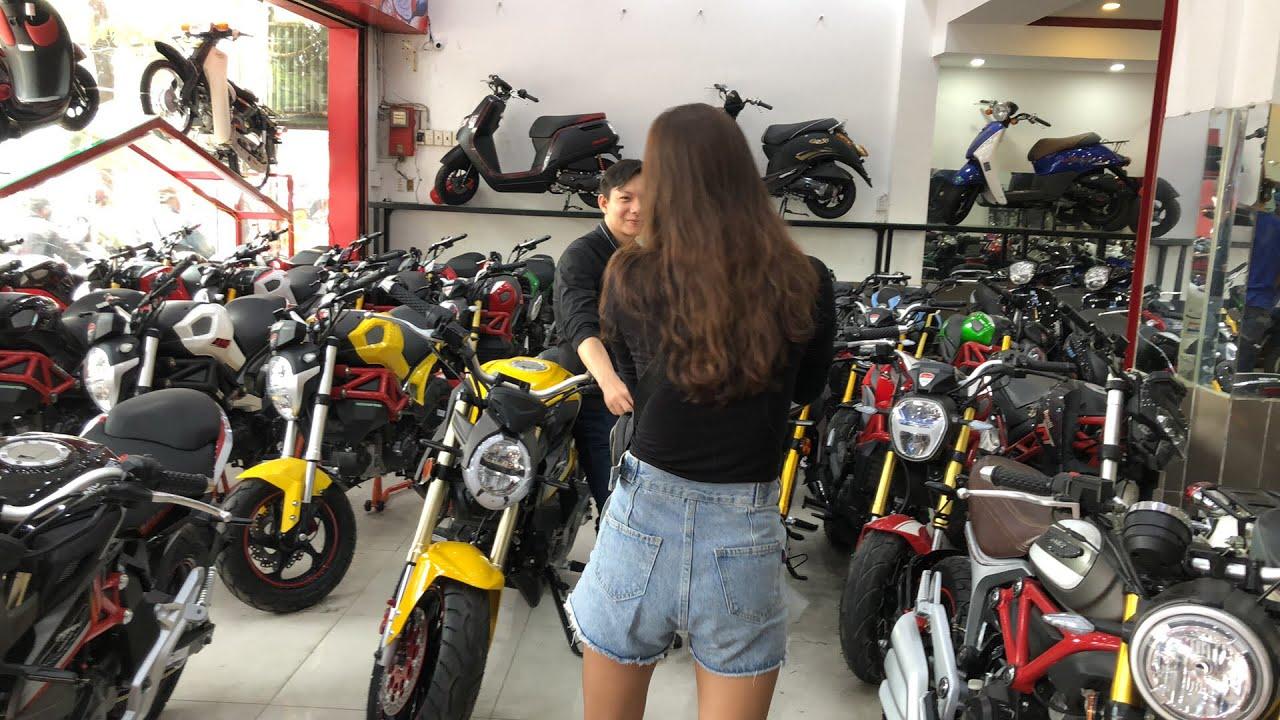 LIVE Địa chỉ mua xe Exciter 50cc, Sirius 50cc, Moto Mini giá rẻ tại Sài Gòn