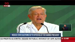 Mexico: State Elections Set to Offer Relief for Harried Presid…