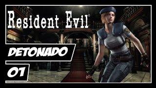 Resident Evil: HD Remaster - Detonado #1 - A Volta de um Classico! Série?
