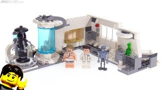 lego Star Wars 75203 Hoth Medical Chamber Review  Обзор на ЛЕГО Звёздные Войны Медкамера на Хоте