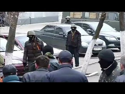 Ukraine: government building seized in Slaviansk
