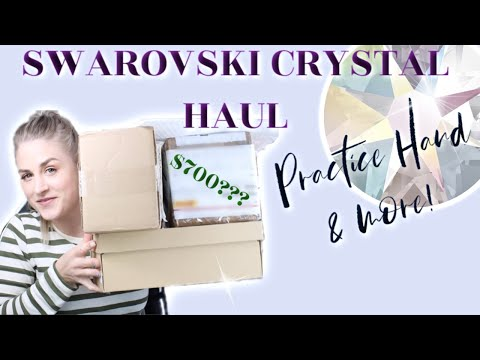 SWAROVSKI CRYSTAL HAUL | NEW RED IGUANA PRACTICE HAND AND MORE...