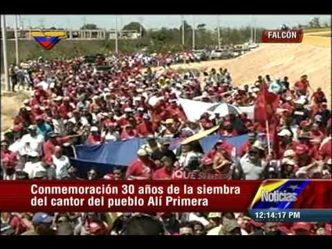 Marcha de los Claveles Rojos 2015, 30 años de siembra de Alí Primera (1)