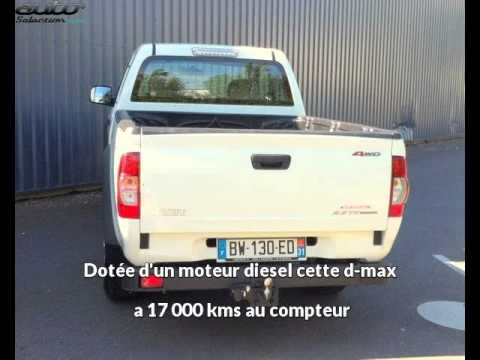 isuzu d max occasion visible fenouillet pr sent e par dune 4x4 youtube. Black Bedroom Furniture Sets. Home Design Ideas