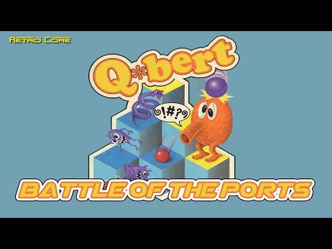 Battle of the Ports - Q*Bert (Qバート) Show #206 - 60fps