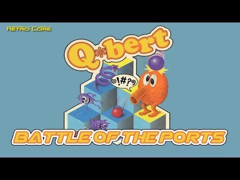 Battle of the Ports - Q*Bert (Qバート) Show #206 - 60fps