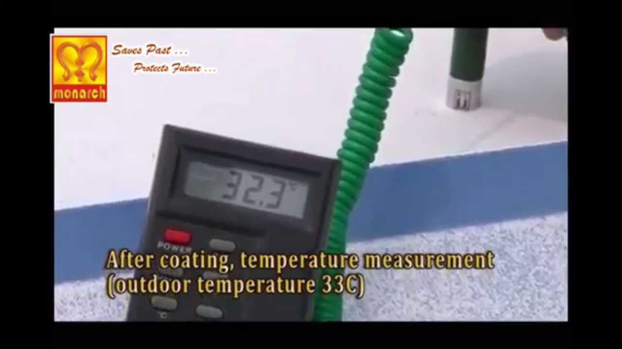heat reflective paint - youtube