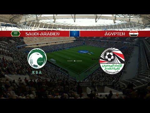Fifa Wm 2018 Prognose Saudi Arabien ägypten Gruppe A Youtube