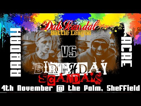 RABDAH VS ACRE | DubScandal Rap Battle