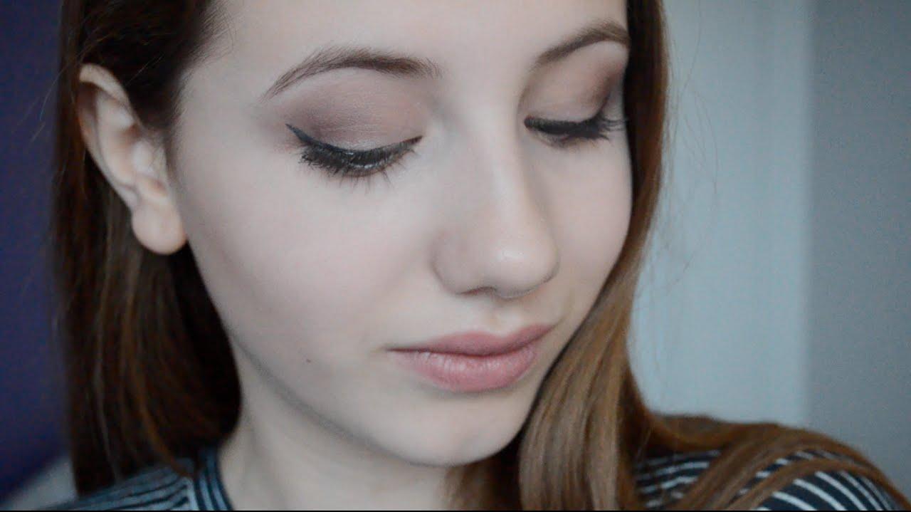 Natural Golden Makeup Tutorial w/ Naked Palette - YouTube