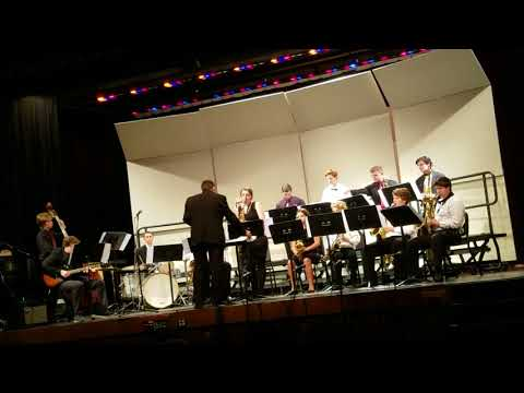 Casey's First HS Jazz Performance