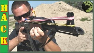 The Most Awesomest AK47 Mod -  RUBBER BANDS -  Hilarious!