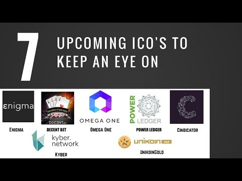 Top 7 Upcoming Cryptocurrency ICO's To Invest In - 2017