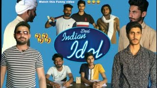 Gambar cover Desi Indian Idol ! Most Funny video ! Lovish Arnaicha 😂