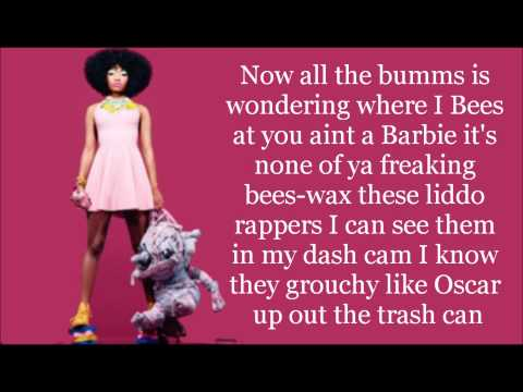 Nicki Minaj- Cypher (Lyrics)