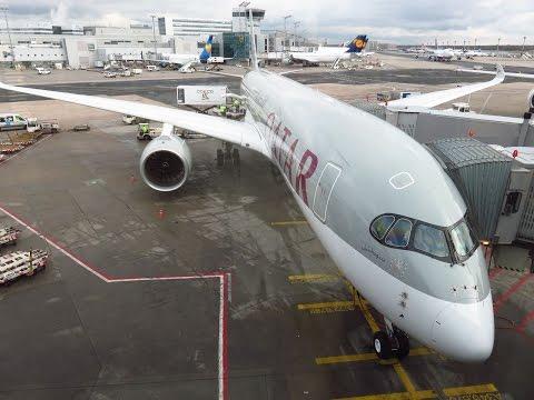 Qatar Airways A350-941 - Flight from Doha Hamad International (DOH) to Frankfurt am Main (FRA)