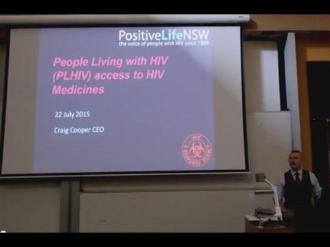 Presentation to Intern Pharmacists at University of Sydney, 22 July 2015