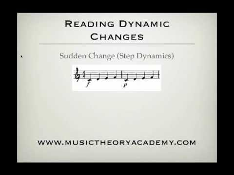 How to read music - Dynamics Part 2