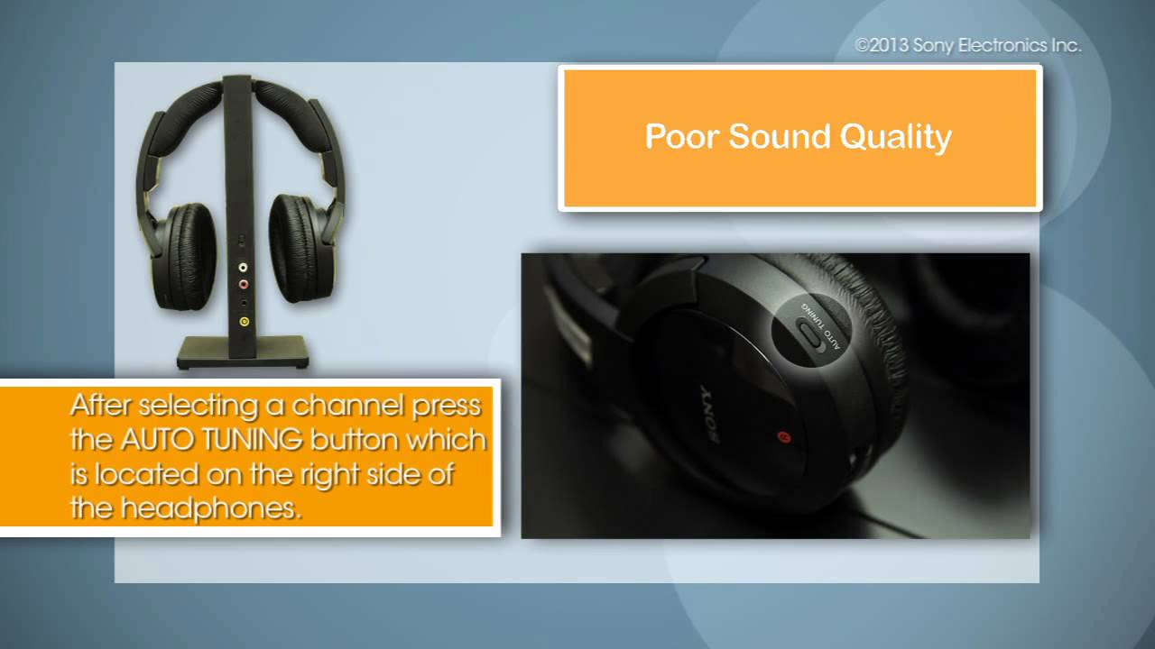 Some Common Steps To Troubleshooting Sony Wireless Headphones Youtube Circuit Ir Headphone Receiver Infrared Transmitter