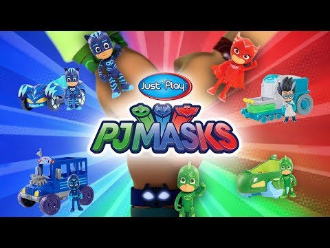 PJ Masks Toys From Just Play! | A Toy Insider Play by Play