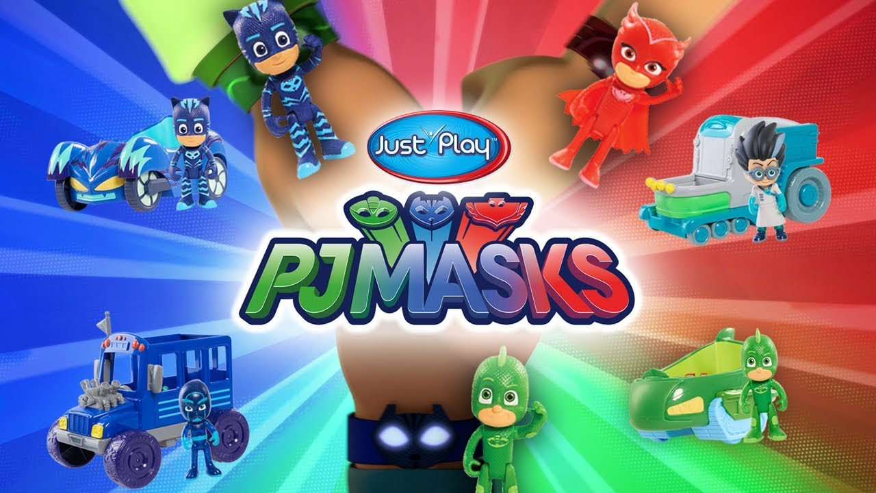 Pj Masks Toys From Just Play A Toy Insider Play By Play