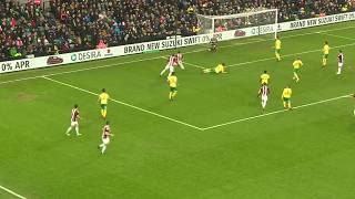 Norwich 1-2 Blades - match action