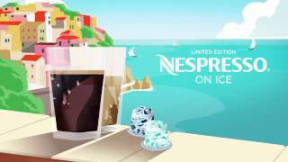 Nespresso On Ice. You're just a sip away