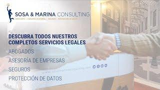 ❤️💛💚NECESITA ABOGADO, ASESORÍA DE EMPRESA, SEGUROS, PROTECCIÓN DE DATOS ❗ - Sosa & Marina Consulting