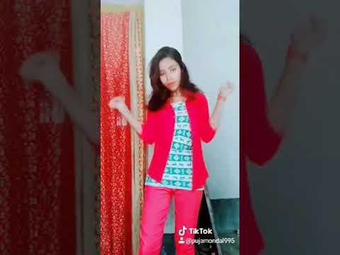 Songs Teri Galio Mein Mohabbat Ho Gey Name Lik LA A Tara Puja Mondal Tik Tok Video