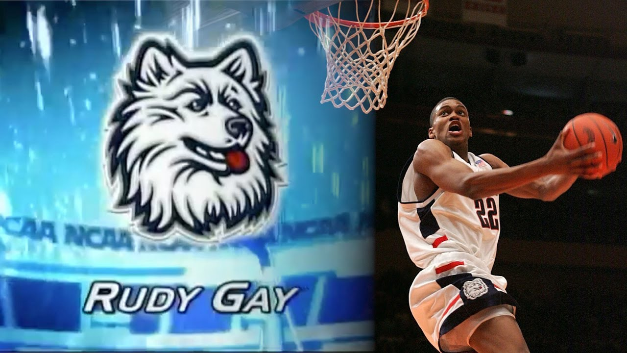 UConn Highlights: Rudy Gay - Freshman Season (2004-2005