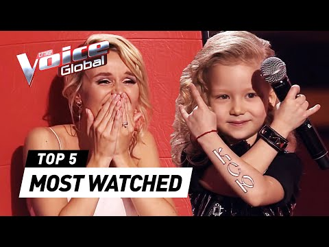 The world's MOST WATCHED Blind Auditions in The Voice Kids 2020