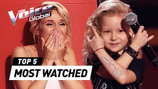 Download The world's MOST WATCHED Blind Auditions in The Voice Kids 2020