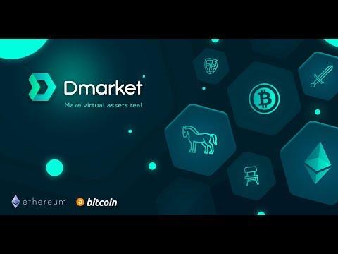 Dmarket - Decentralized marketplace for virtual goods [Sponsored]