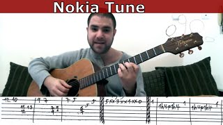 Guitar Tutorial: Nokia Tune + Groovy Blues & Espionage Ringtones