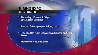 Bristol hiring expo on Oct. 18 features thousands of jobs