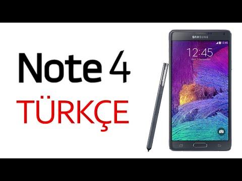 Samsung Galaxy Note 4 İnceleme TÜRKÇE