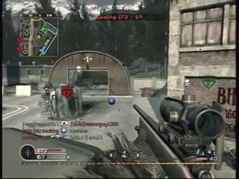 sS JUGG3RN4UT - First Trip to Paradise - COD4 - No Scope Montage