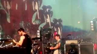 FOALS - Milk & Black Spiders @ VOLT Festival, Hungary / 03.07.14