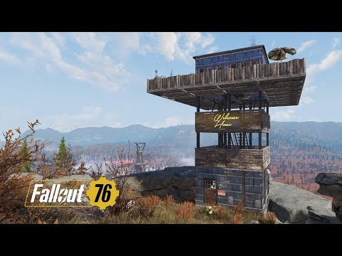 Fallout 76 Tower Camp (Moveable Camp Fail) thumbnail
