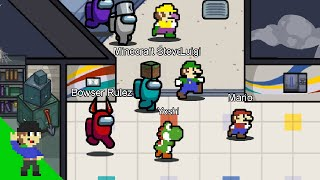 If Among Us had Super Mario characters
