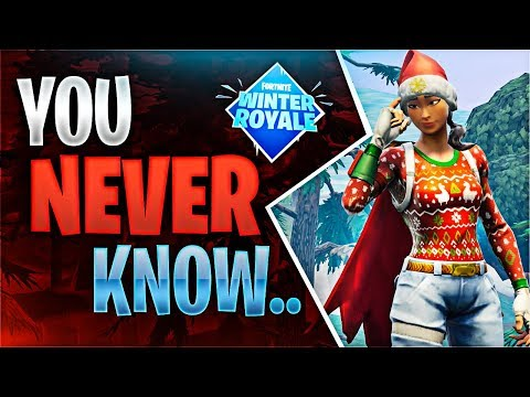YOU NEVER KNOW Fortnite Battle Royale