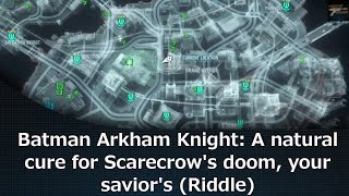 Batman Arkham Knight: A natural cure for Scarecrow