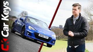 2017 Subaru BRZ Review – The Best Affordable Sports Car Money Can Buy? - Car Keys