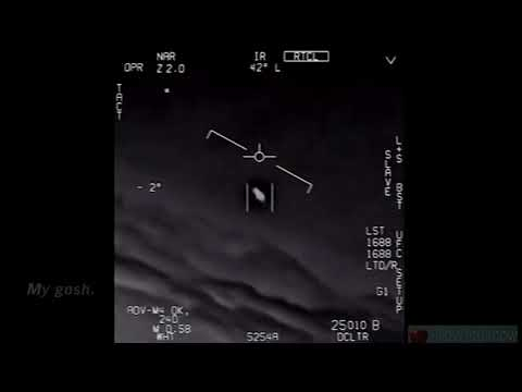 Declassified Video Shows UFO Chase By Navy FA 18 Super Hornet - Pilots Stunned