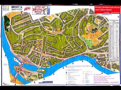 BOK City of Bristol Races, Euro City Race Tour Orienteering Day 1 10 June 2017