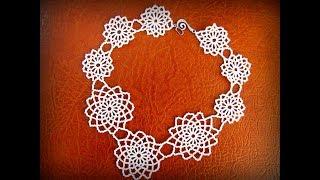 Колье из бисера. How To Make Necklace | Home Made Tutorial | DIY |